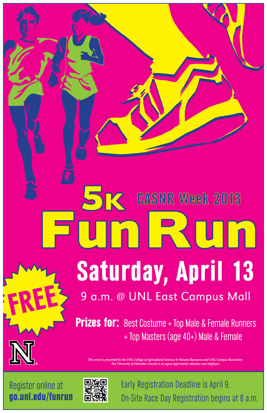 registration open for casnr 5k fun run announce university of nebraska lincoln. Black Bedroom Furniture Sets. Home Design Ideas