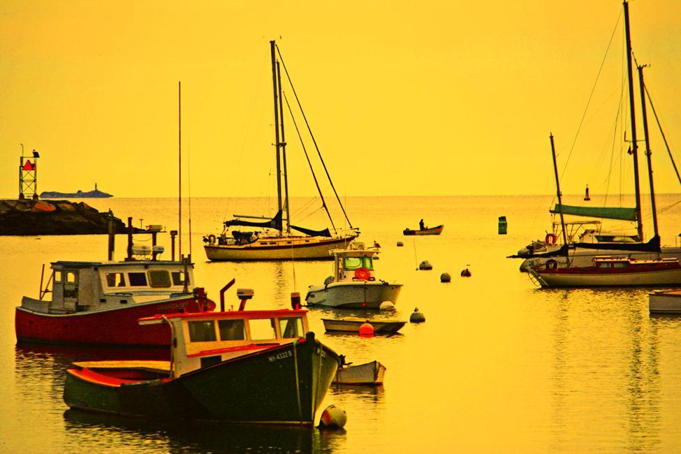 """On Rye Harbor"" by Rachel Garver, student accounts."