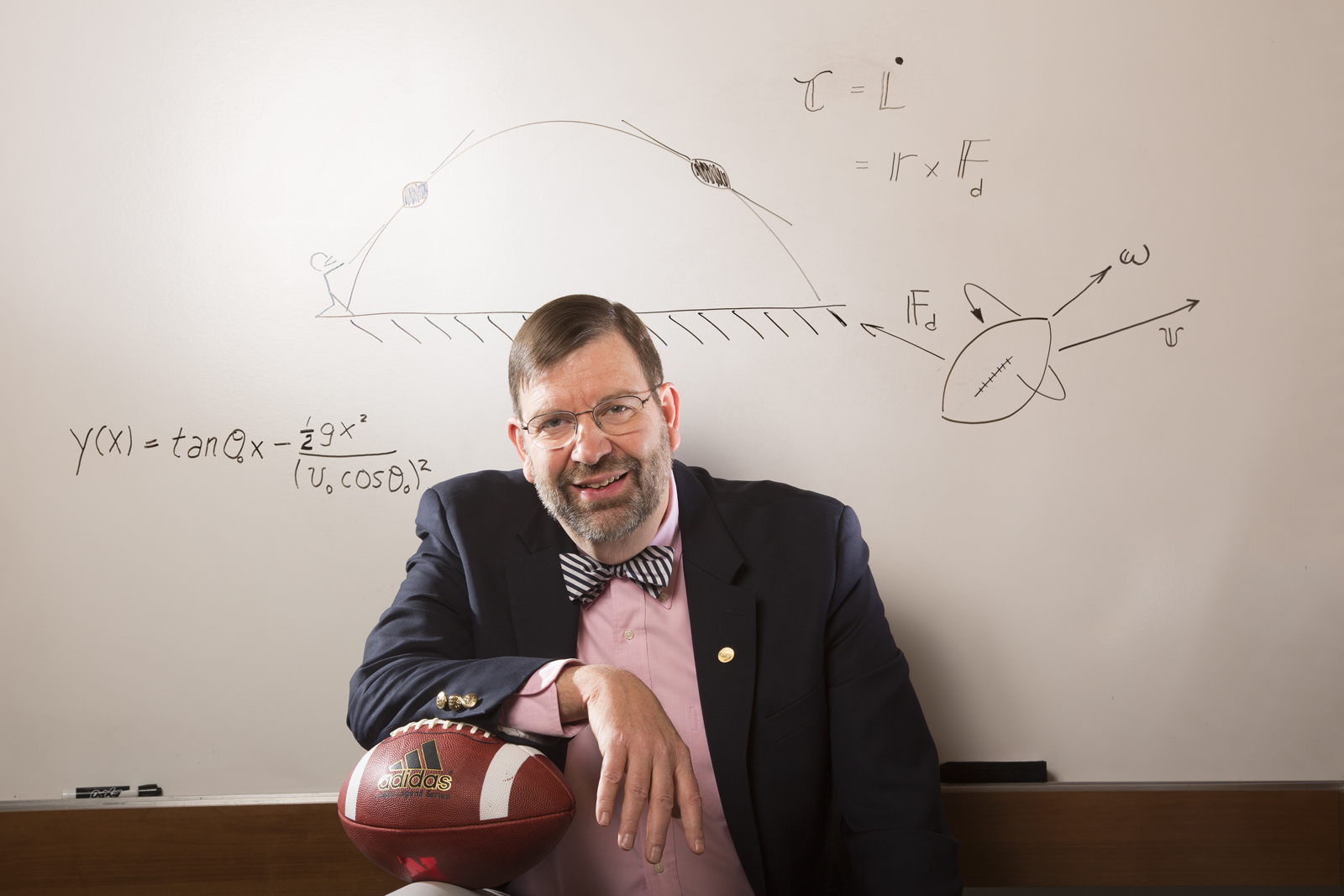 Tim Gay, professor of physics, will give the next Nebraska Lecture on April 5.