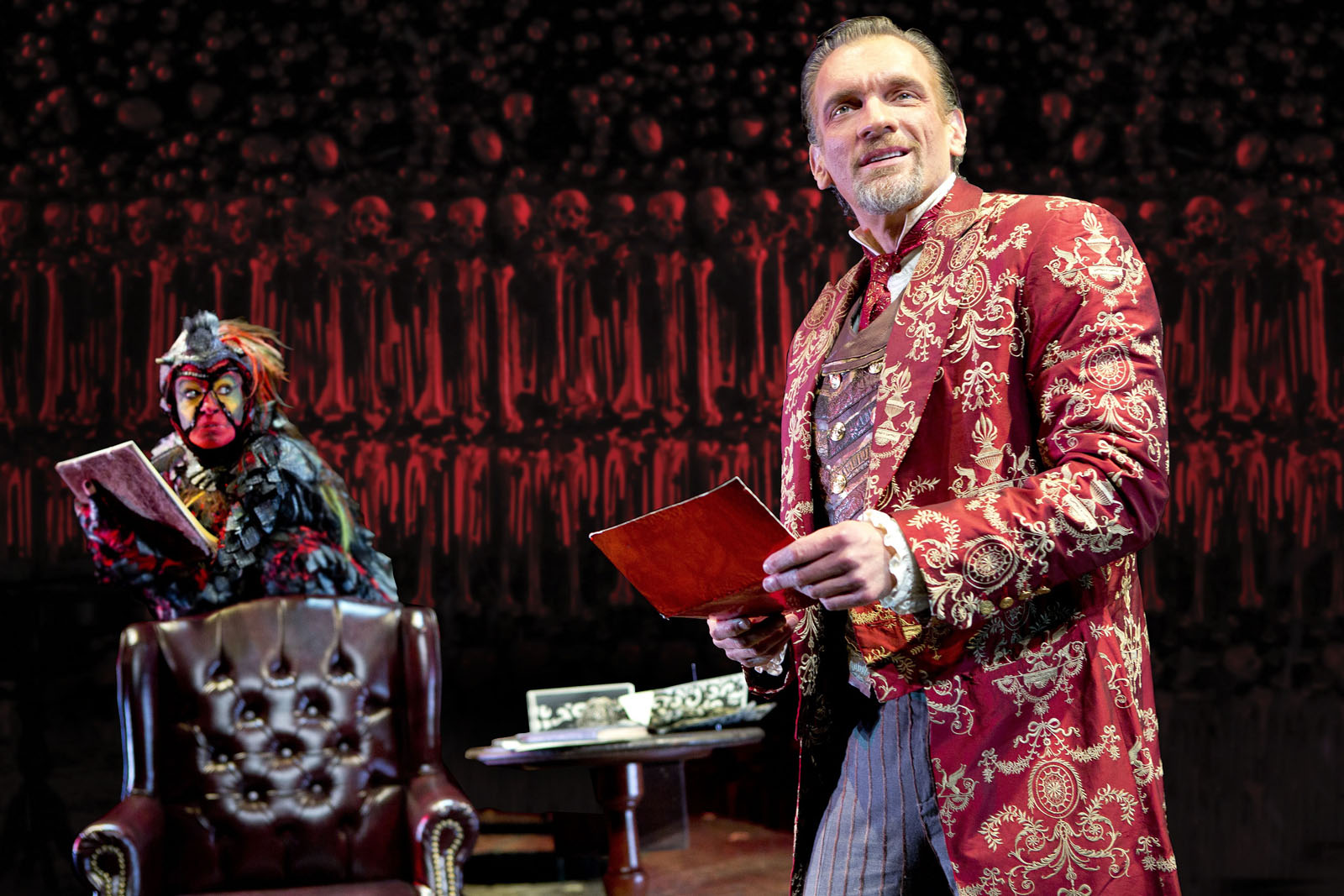 "A scene from the theatrical adaptation of C.S. Lewis' ""The Screwtape Letters."""
