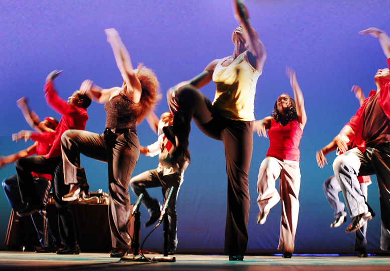 Gaughan Week events include an April 8 Step Afrika! performance.