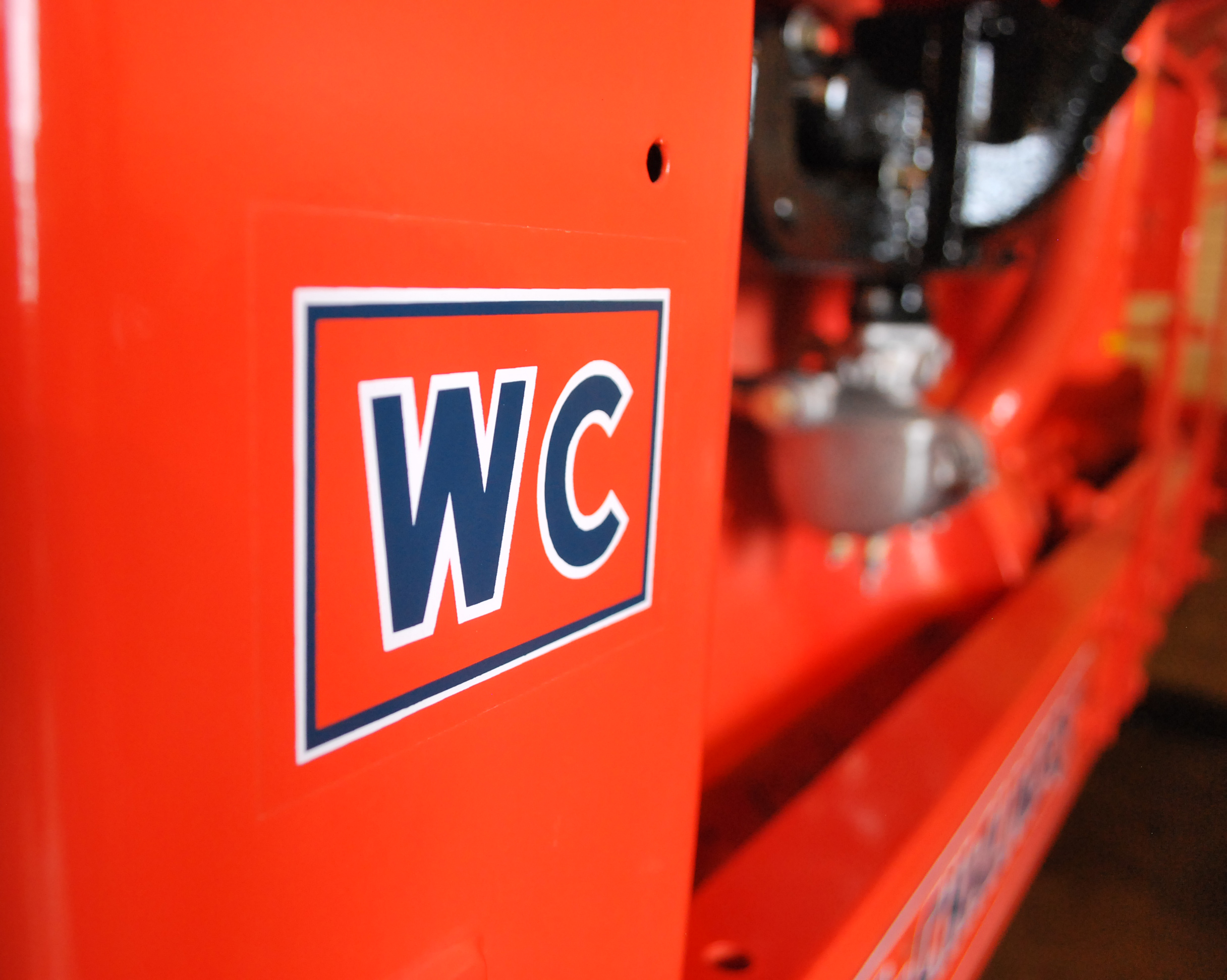 Several vintage tractors are display at the Larsen Tractor Test & Power Museum.