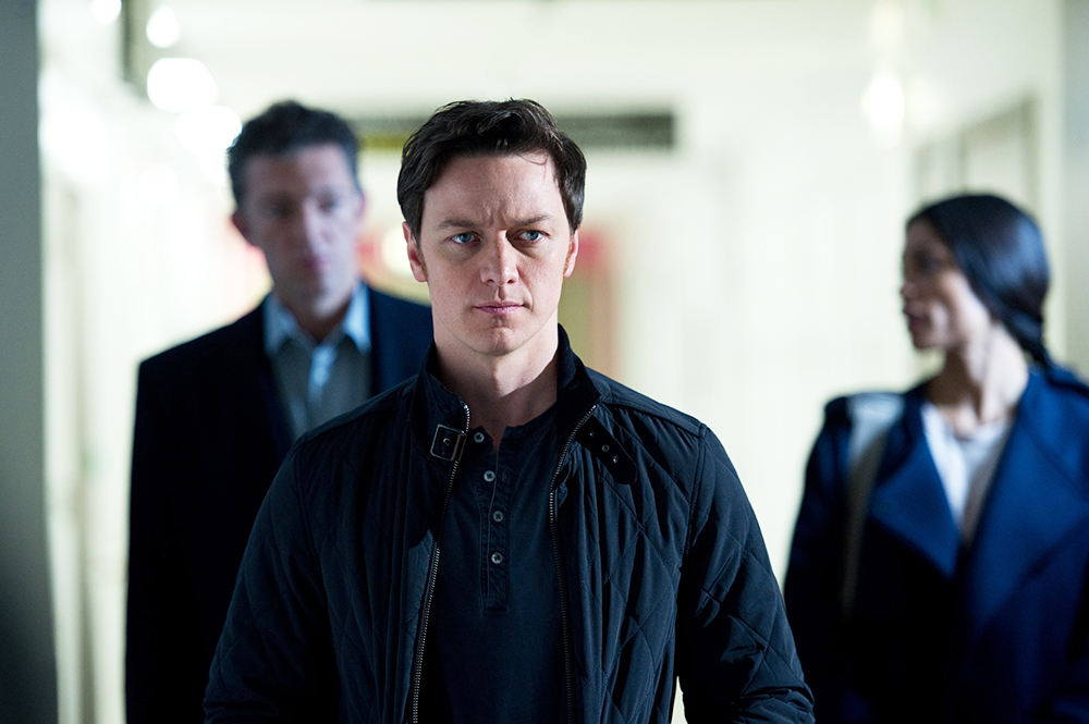 "James McAvoy in ""Trance."""
