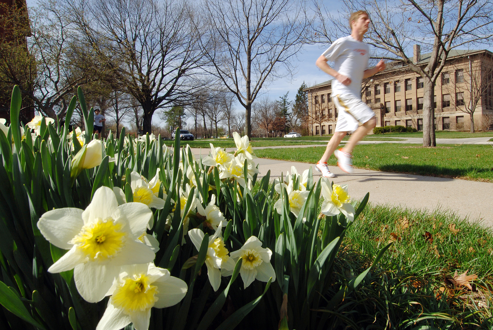 CASNR Week events open with a 5K Fun Run on April 13. (University Communications file photo)