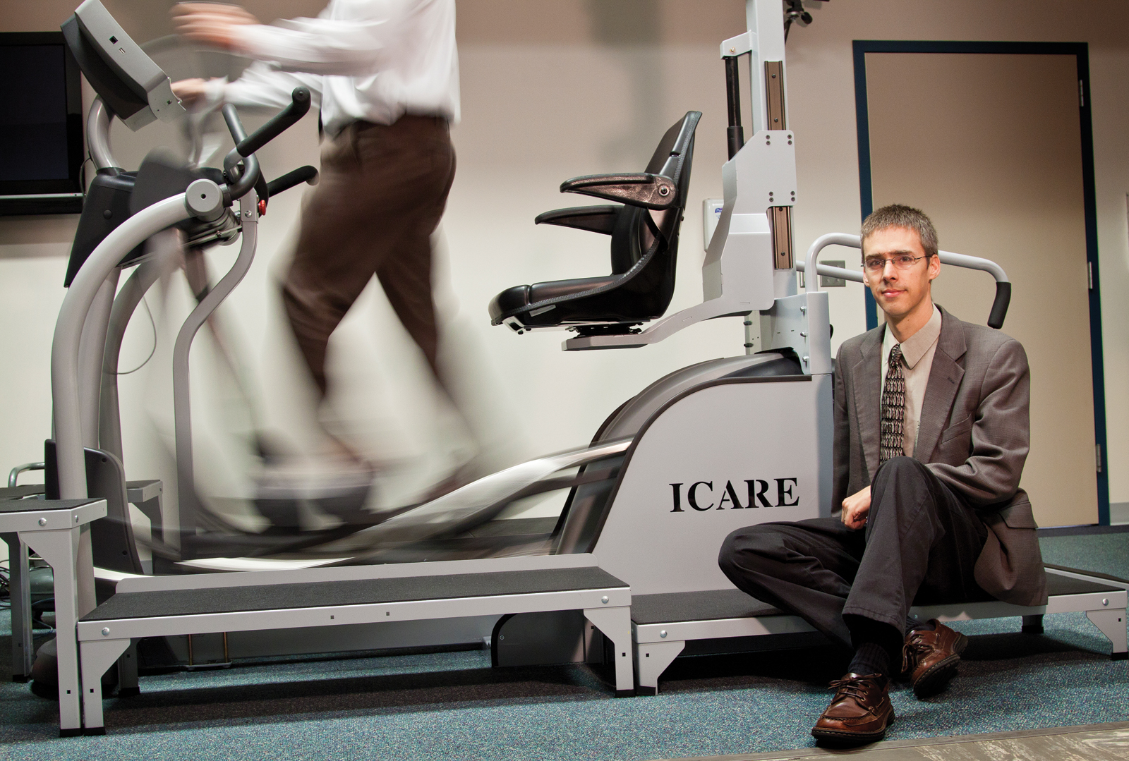 UNL's Carl Nelson collaborated with Madonna Rehabilitation Hospital on the ICARE device.