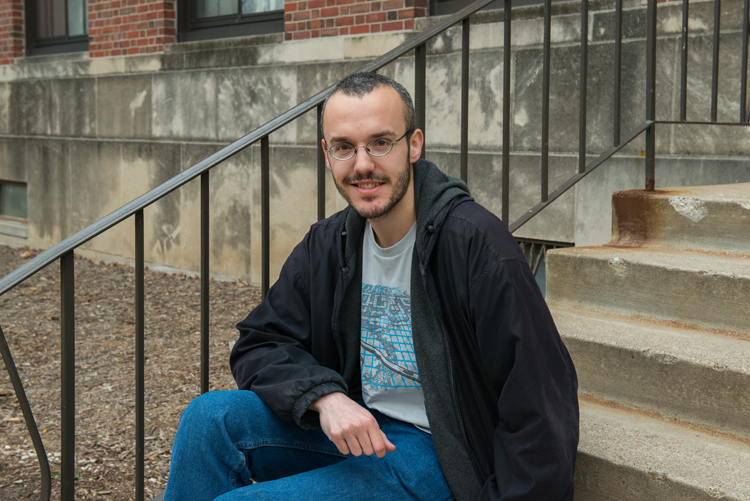 Daniel Nyikos, a third-year graduate student at the University of Nebraska-Lincoln, has been awarded a Fulbright Scholarship to Hungary for the 2013-14 academic year. (Greg Nathan / University Communications