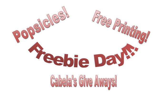 Freebie Day!