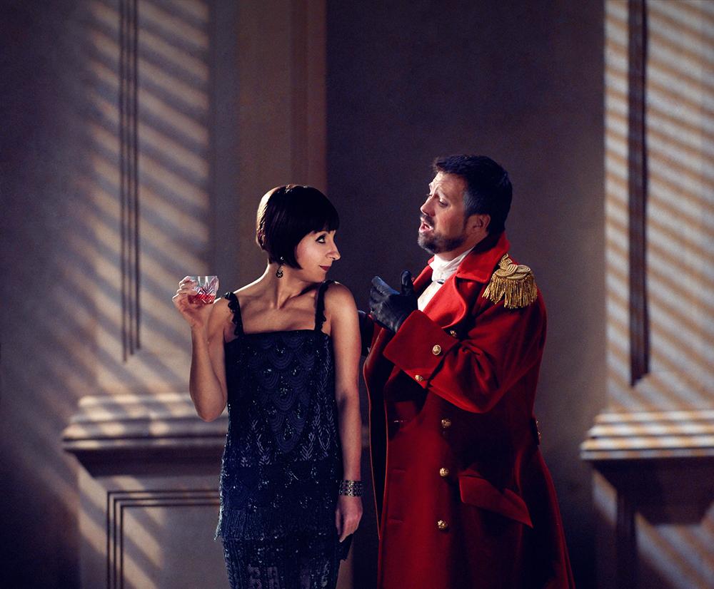 """Natalie Dessay and David Daniels in """"Giulio Cesare."""""""