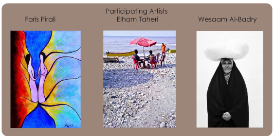 Participating artists in Spring Art Showcase