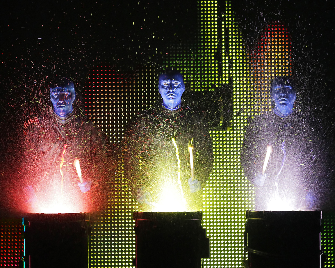 Blue Man Group opens the Lied Center for Performing Arts' 2013-14 season on Sept. 27. (Courtesy photo)
