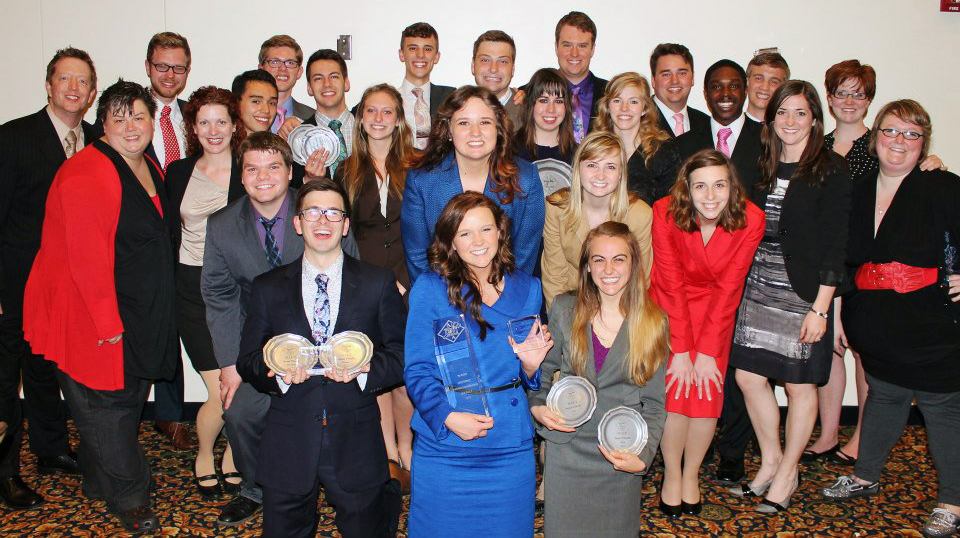 UNL's speech and debate team finished seventh in the nation at the National Individual Events Tournament on April 6-8. The team was first among all Big Ten teams competing in the tournament. (Courtesy photo)