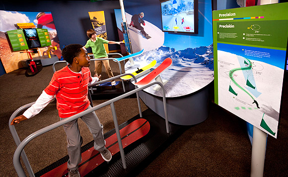 MathAlive! 3D Snowboarding Experience