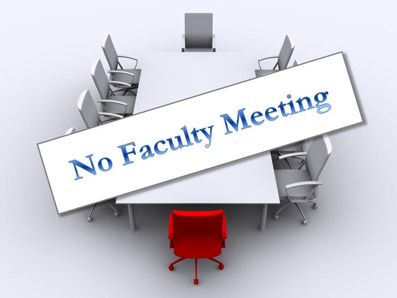 faculty meeting canceled announce university of nebraska lincoln