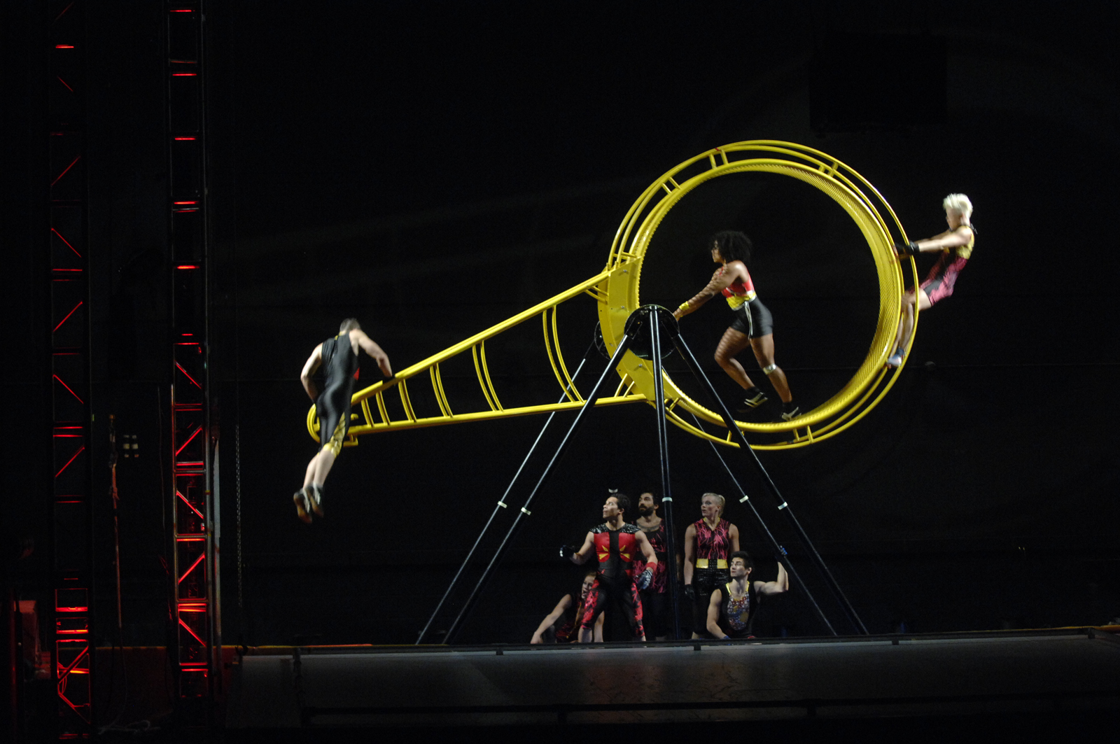 The dance company Streb during a performance. Streb will help lead an interdisciplinary project at UNL in 2014.