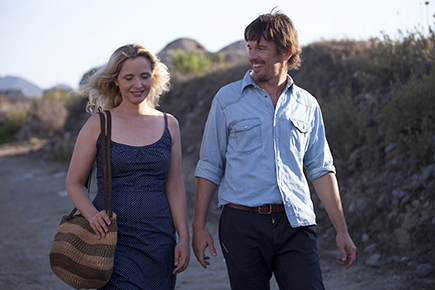 "Julie Delpy and Ethan Hawke in ""Before Midnight."""