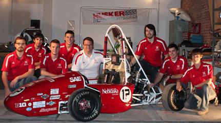 Husker Motorsports' 2013 entry.