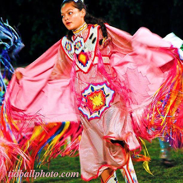 Native American Shawl Dance. (Courtesy Tom Tidball)