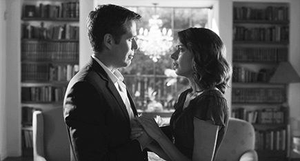 """Alexis Denisof and Amy Acker in """"Much Ado About Nothing."""""""