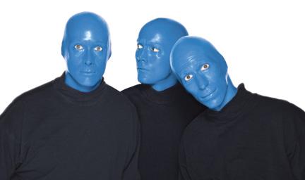 Blue Man Group (courtesy photo)