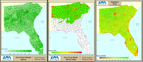 McNider's research employs crop and hydrologic modeling to see how expanding irrigation would affect agriculture in the Southeast.