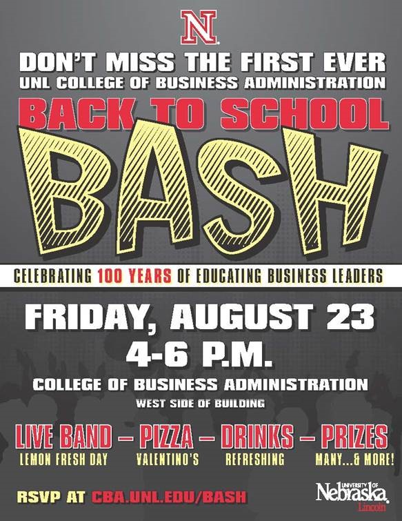 Back To School Bash - Celebrating 100 years of CBA!
