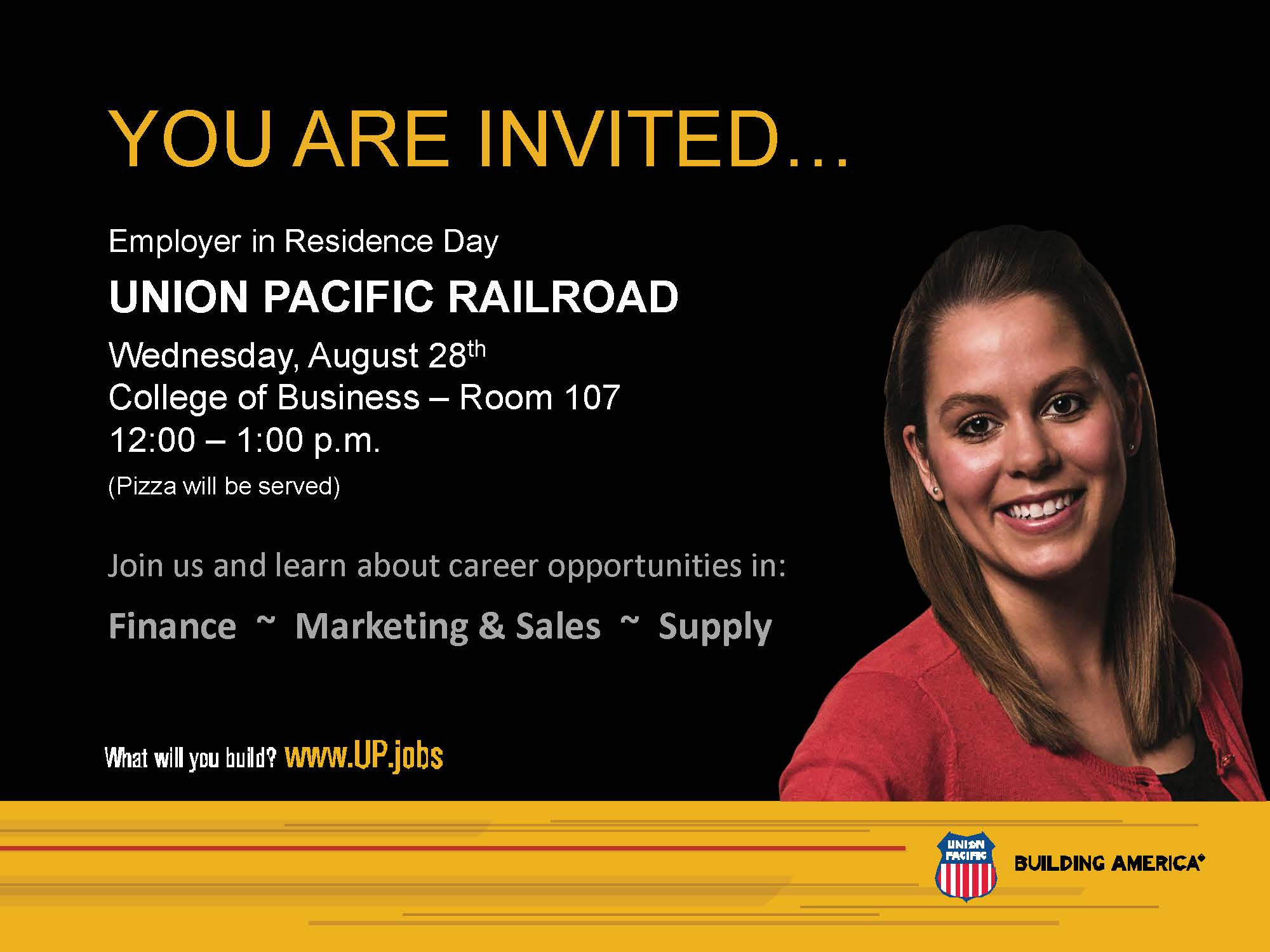 Union Pacific's Event Lineup