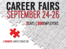 2013 Fall Career Fairs, Sept 24-26