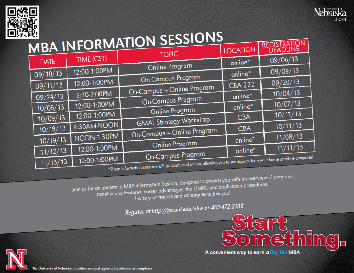 MBA Info Sessions