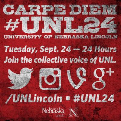 #UNL 24 is Tues. September, 24.