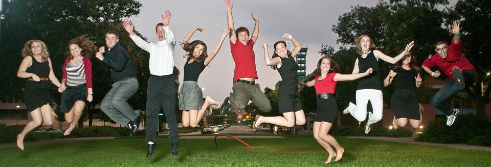 UNL CoJMC Students