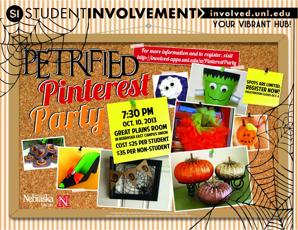 East Campus Halloween Pinterest Party