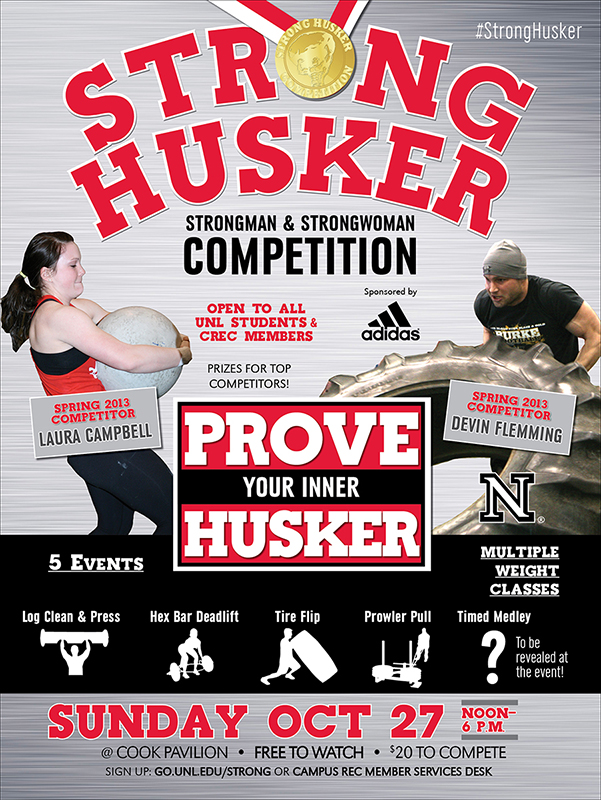 Strong Husker Competition – Oct 27