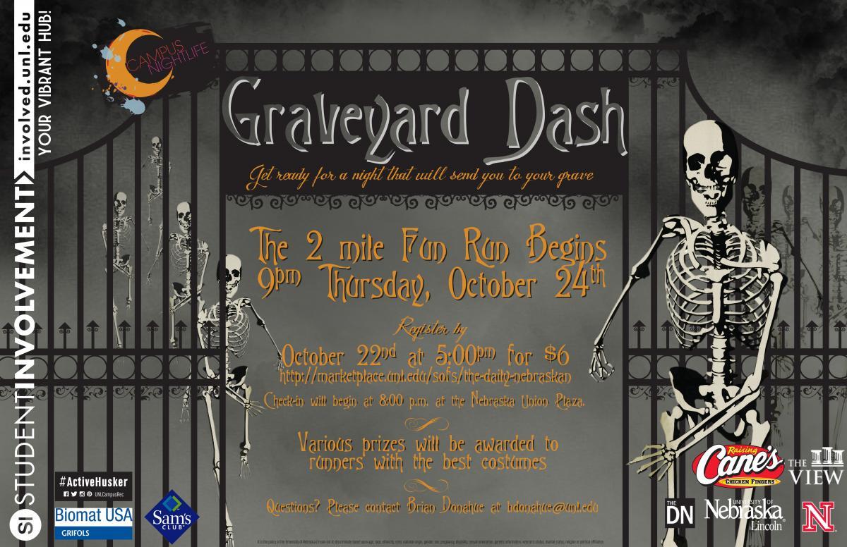 Graveyard Dash Flyer