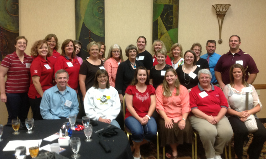 Several Math in the Middle teachers attended the GNMTC on Sept. 29 in Kearney