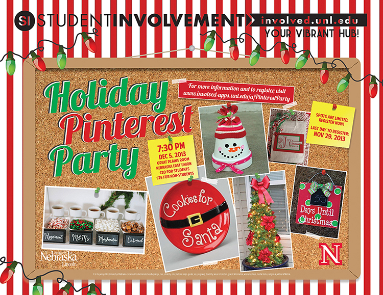 Holiday Pinterest Party