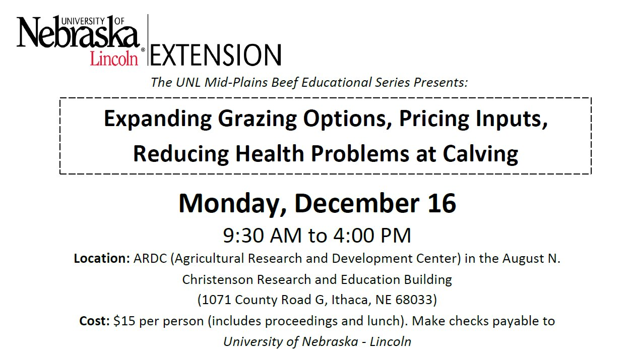 This program is designed for producers, veterinarians, students, or others involved in the beef industry.