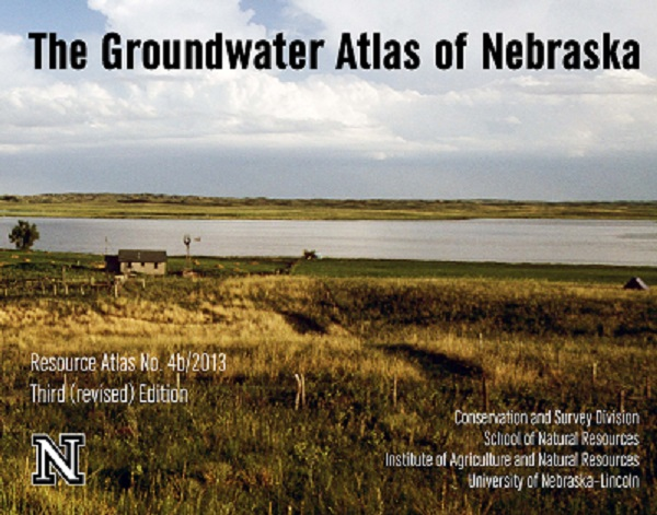 "The third edition of the ""Groundwater Atlas of Nebraska"" is now available for purchase."