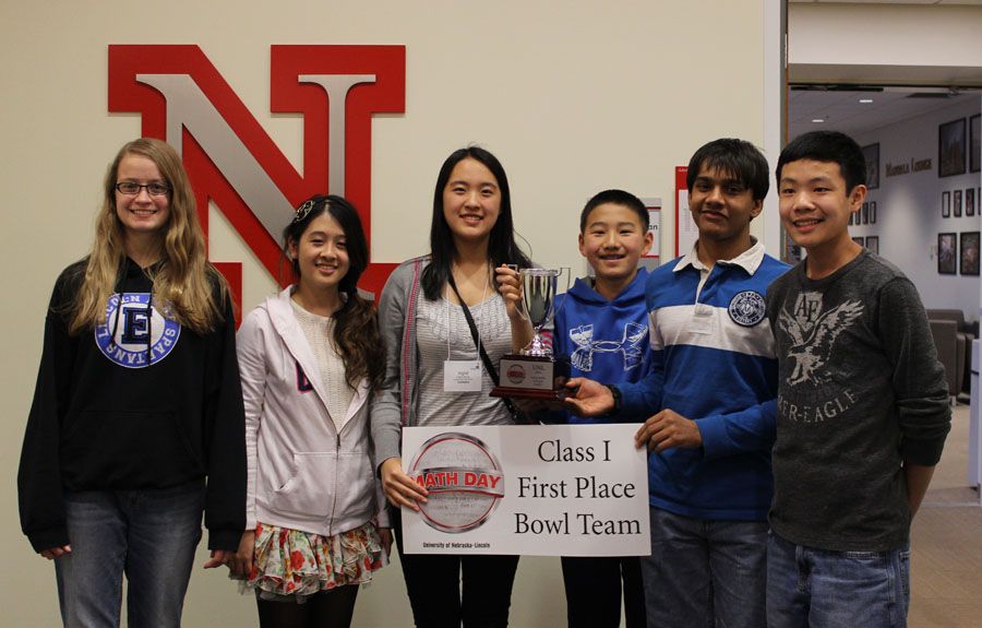 Lincoln East won first-place in Class I in the bowl competition and the PROBE team competition.
