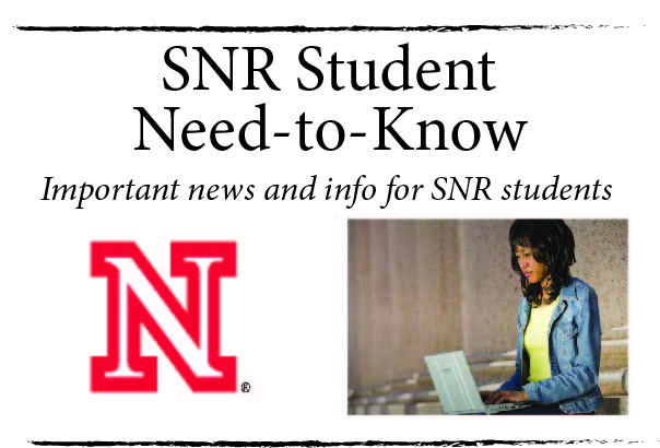 SNR Student Need-to-Know is the one-stop shop of information for all SNR students.