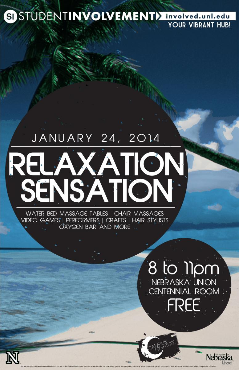 Relaxation Sensation Poster
