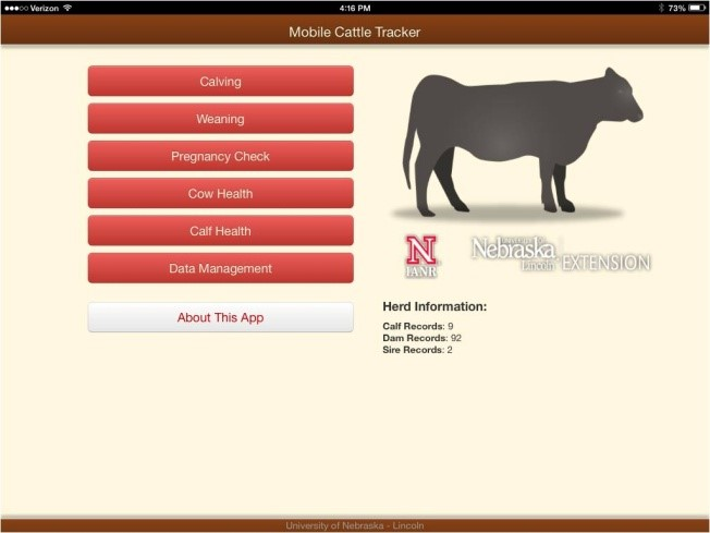 Mobile Cattle Tracker is available for ipads, iphones, android smartphones, and android tablets.