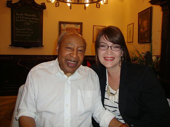 Robert Owens and Assistant Professor of Voice Jamie Reimer.