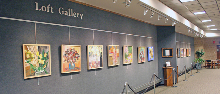 A new exhibit in the East Union Loft Gallery is showcasing the art of Abe Jackson.