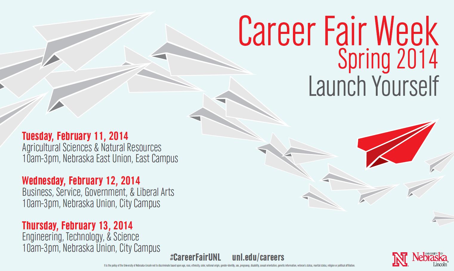 Career Fair Week Spring 2014