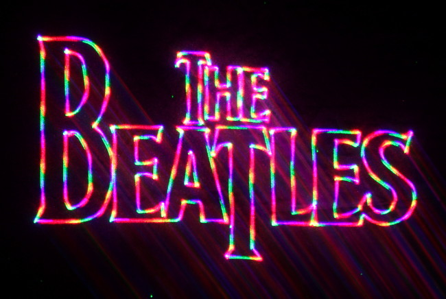 The Beatles (Image   FirstLight Laser Productions)