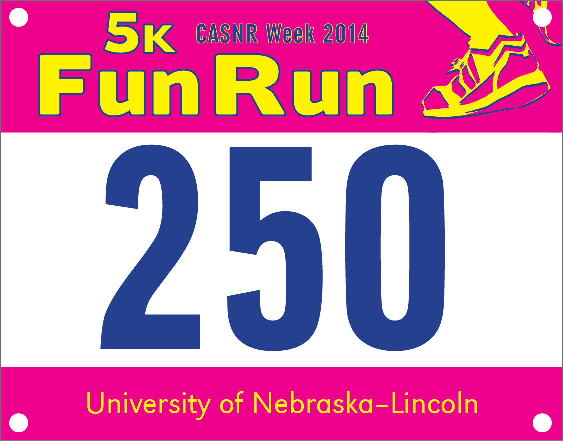 During the annual CASNR Week festivities, the College of Agricultural Sciences and Natural Resources will host a free 5K fun run/walk at 9 a.m. April 12 on East Campus.