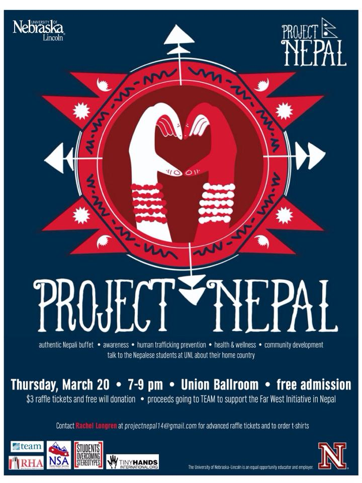 Project Nepal Thursday March 20th 7-9pm