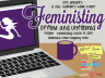 Feministing: Offline and Unfiltered poster