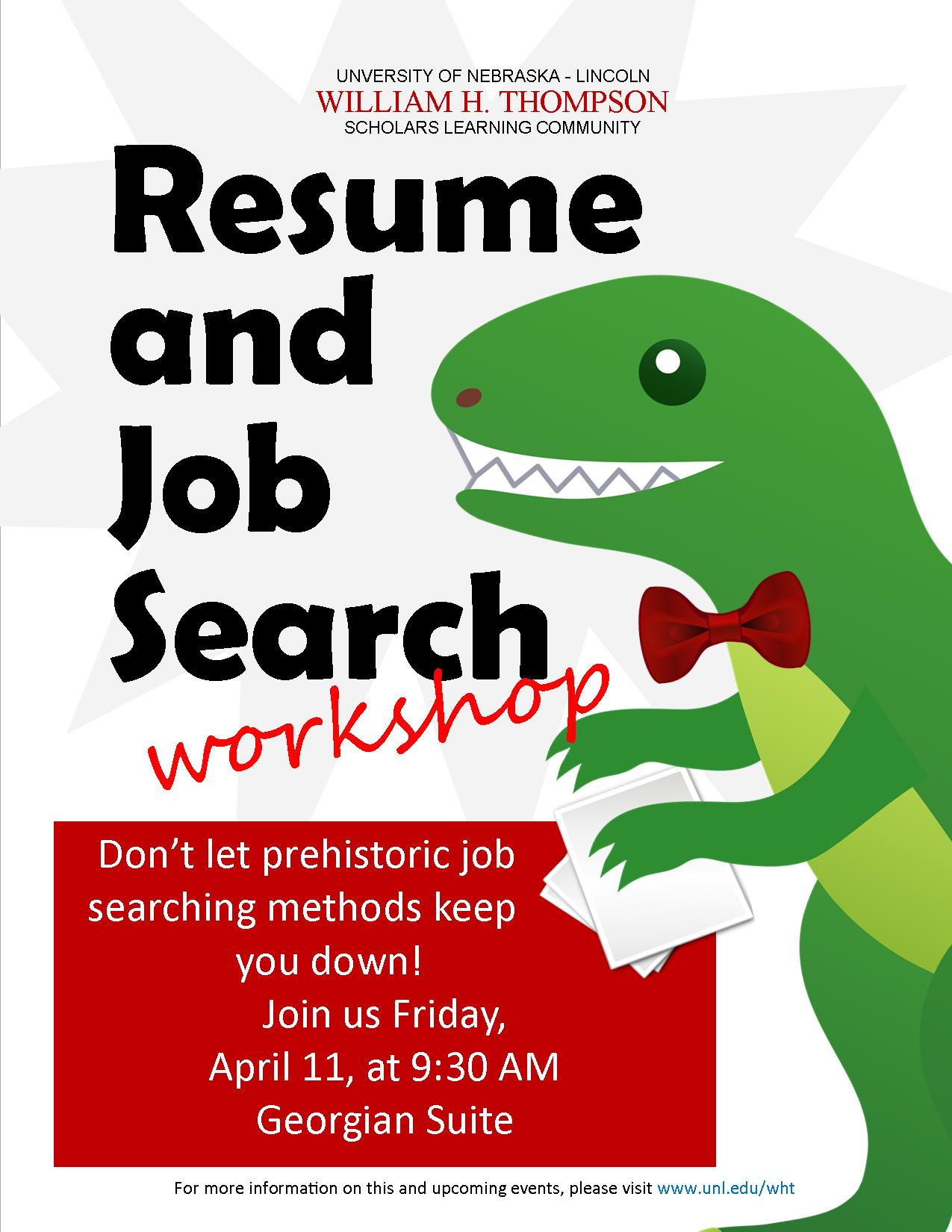 resume and job search workshop
