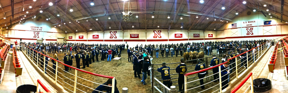IANR is hosting the Nebraska State FFA Convention on the UNL City and East Campuses from April 9-11.